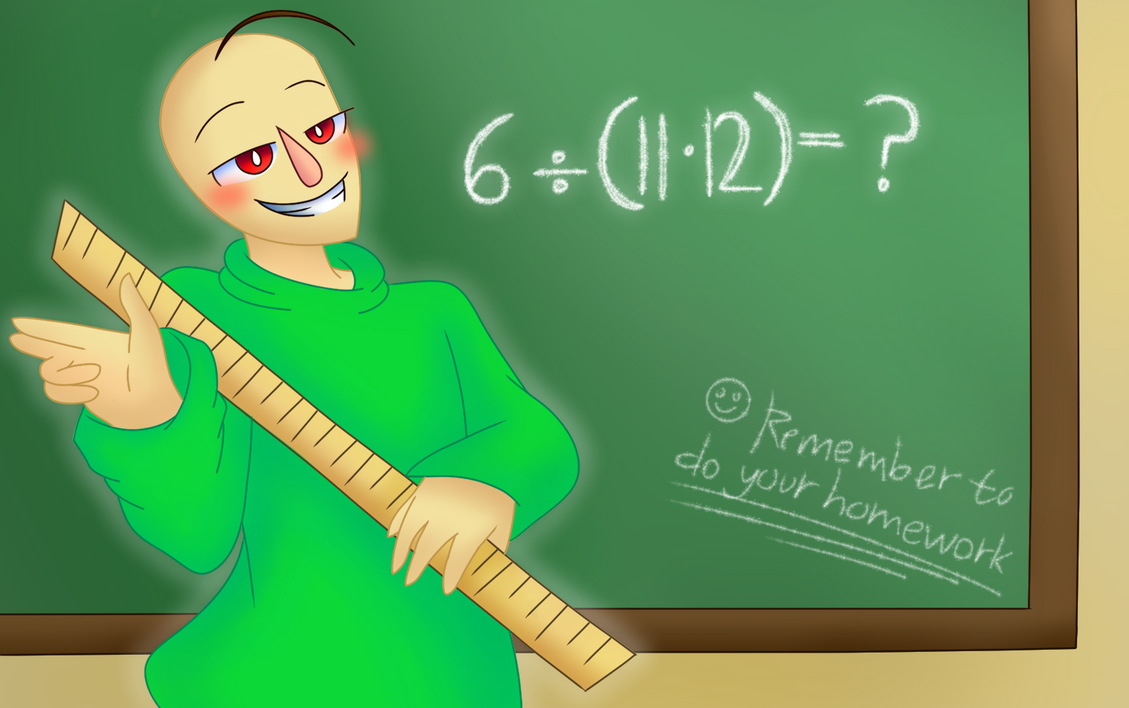 baldi s basics in education and learning by mr ms faded on deviantart