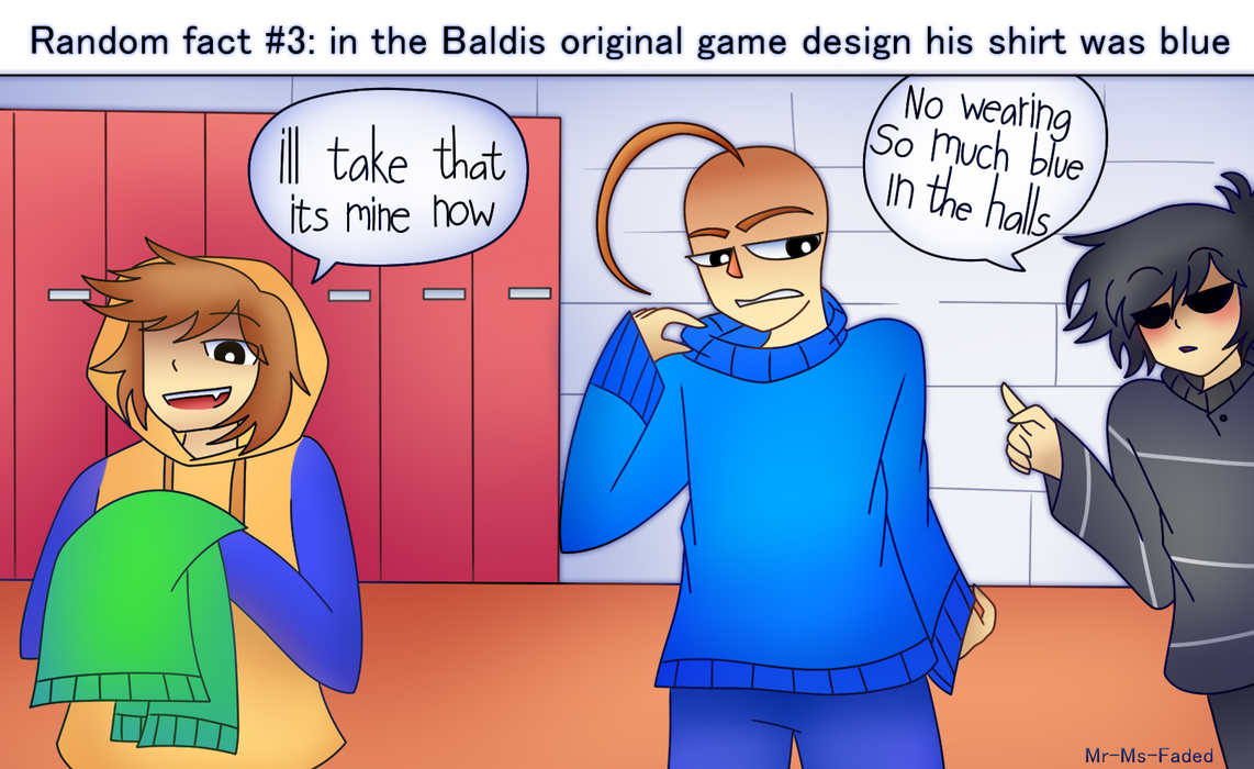baldis basics facts 3 by mr ms faded on deviantart