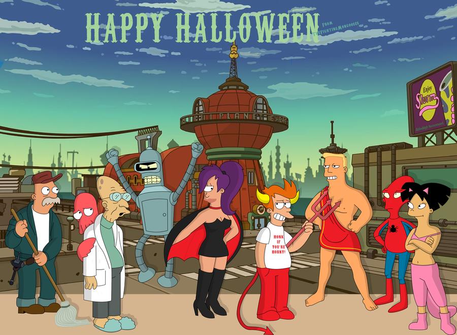 Halloween 3010 by TheFightingMongooses