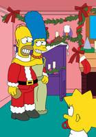 'I Saw Mommy Kissing Santa' by TheFightingMongooses