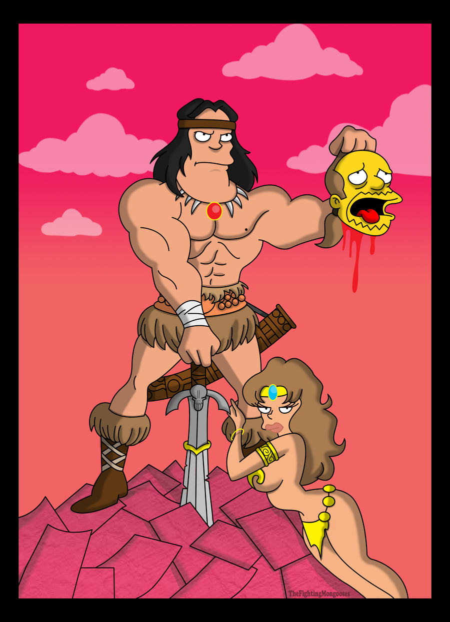 Conan the barbarian cartoon porn nude tube