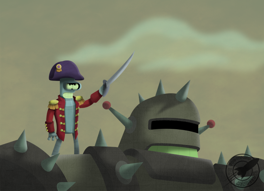 The Robot Uprising by TheFightingMongooses