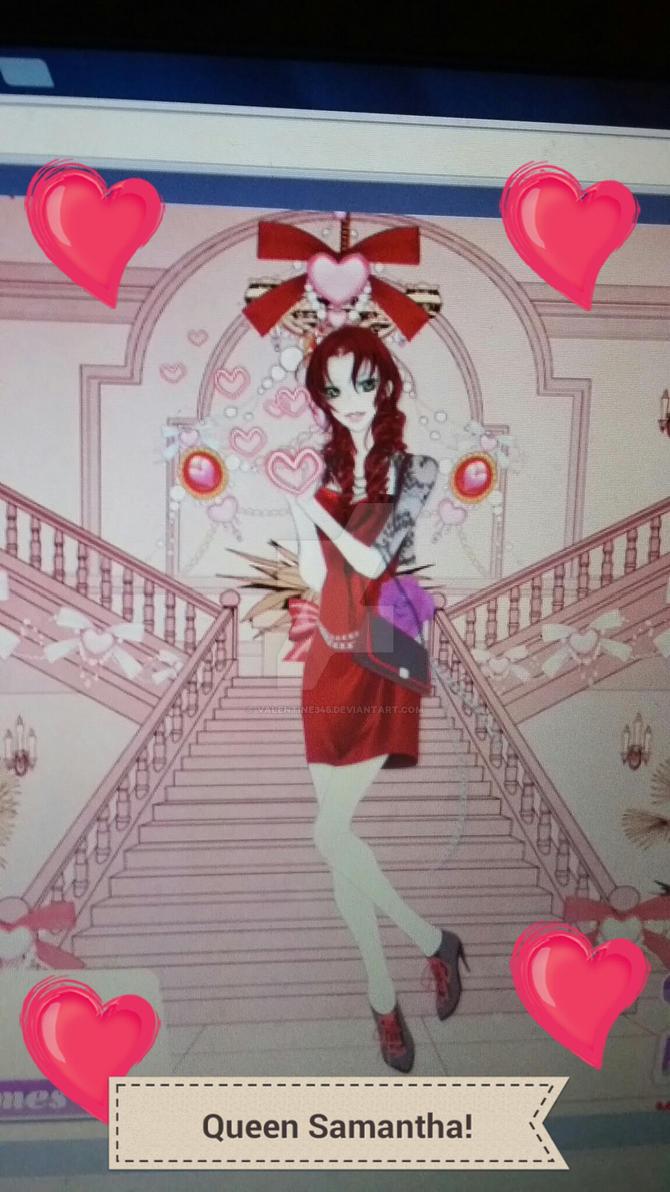 Queen Of Hearts! For MysticGaurdianAngel by Valentine345