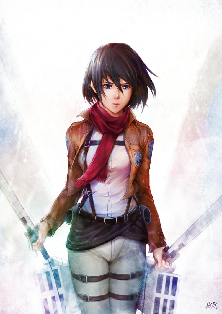 Mikasa Ackerman by verkant