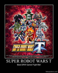 Motivational Poster - Super Robot Wars T