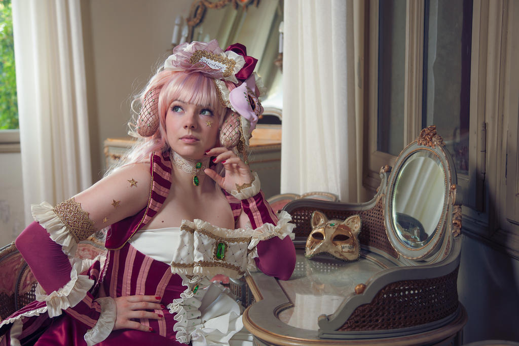 Cheshire cat portrait by Elsa-Cosplay