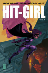 HIT-GIRL COMIC COVER by jpcorredor