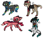 Adopts (1) by Scarlet-kat CLOSED