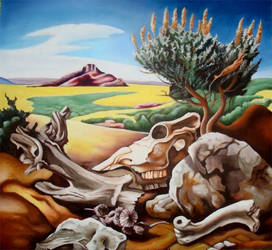 The Desert by Kristen-Grunewald