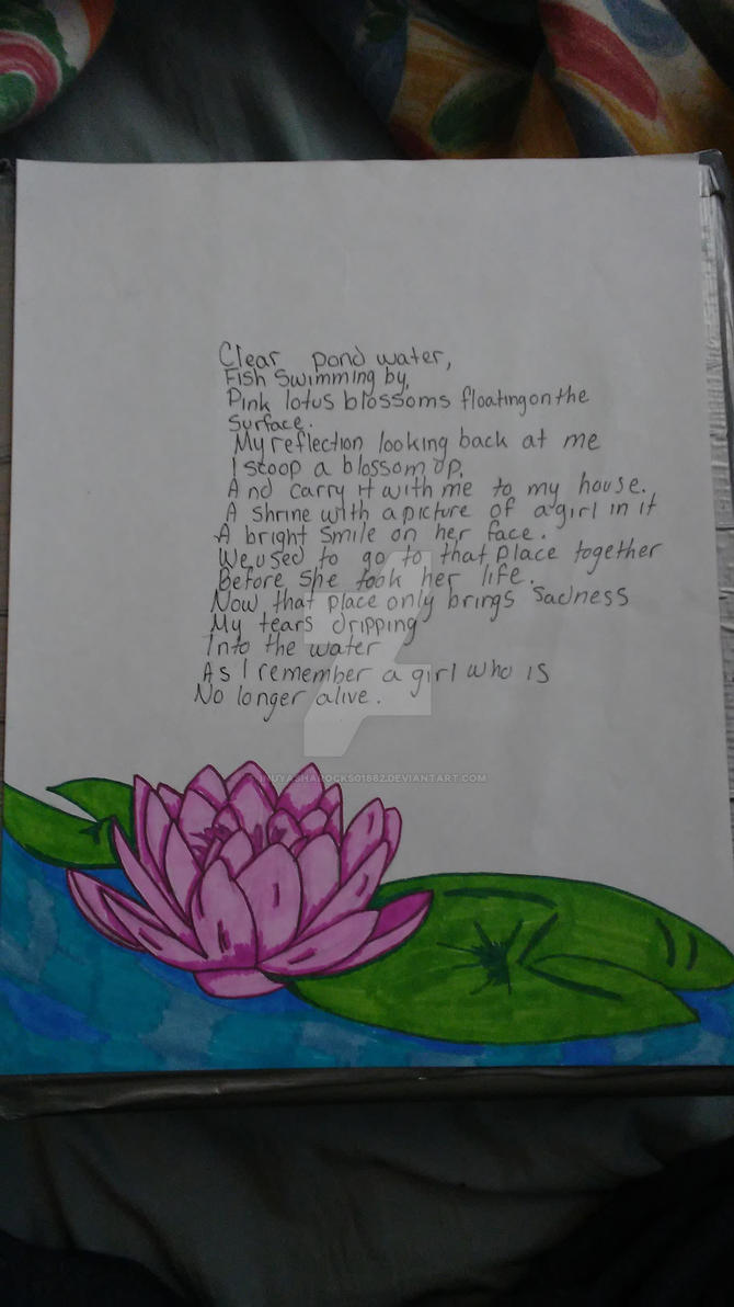 Lotus Blossom Poem By Inuyasharocks01862 On Deviantart