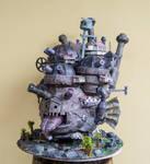 Riproduzione del Castello errante di Howl di H.M.