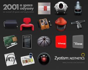 2001 Space Odyssey by Zyotism