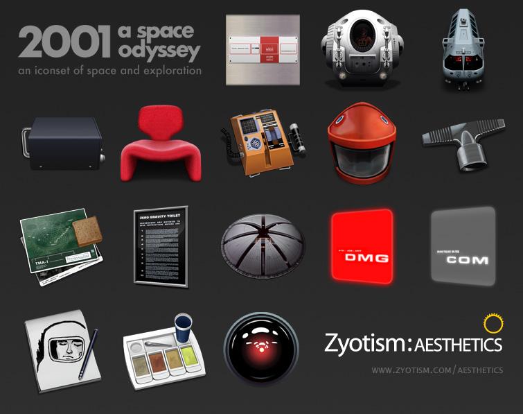 2001 Space Odyssey by Zyotism by KoKaine