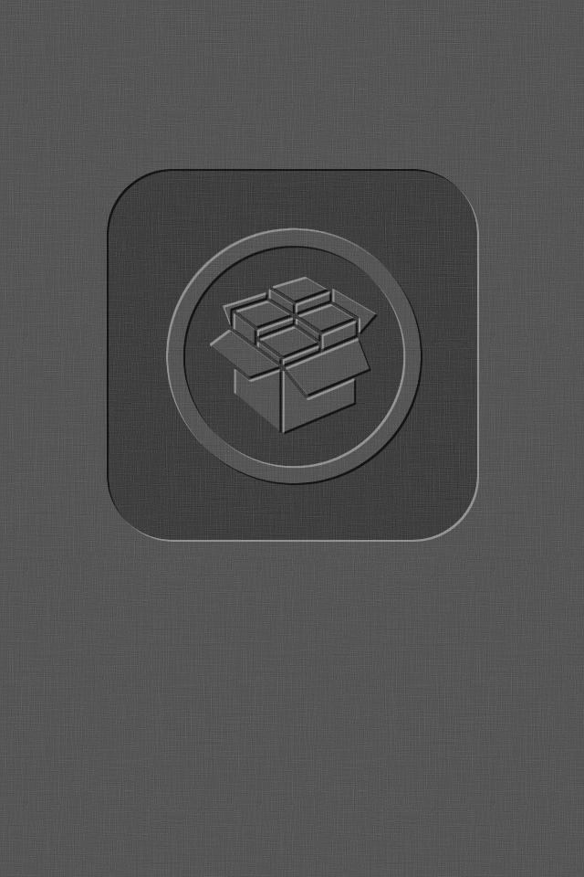 iOS5 cYDIA Wallpaper - Dark Grey by KoKaine