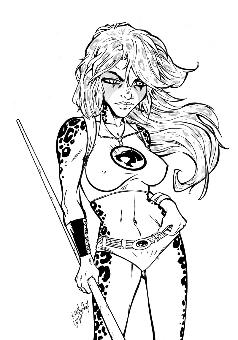 cheetara by channandeller on deviantart