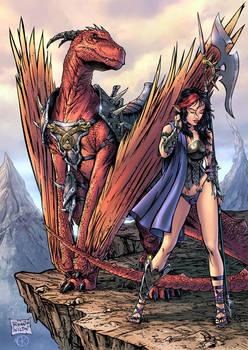 Kailyn dragonrider-print color