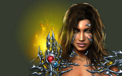 Realistic Witchblade by channandeller