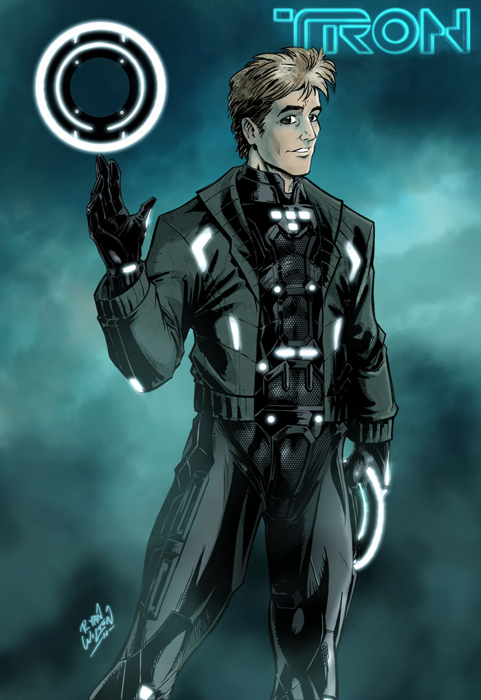 Tron - Lives by channandeller