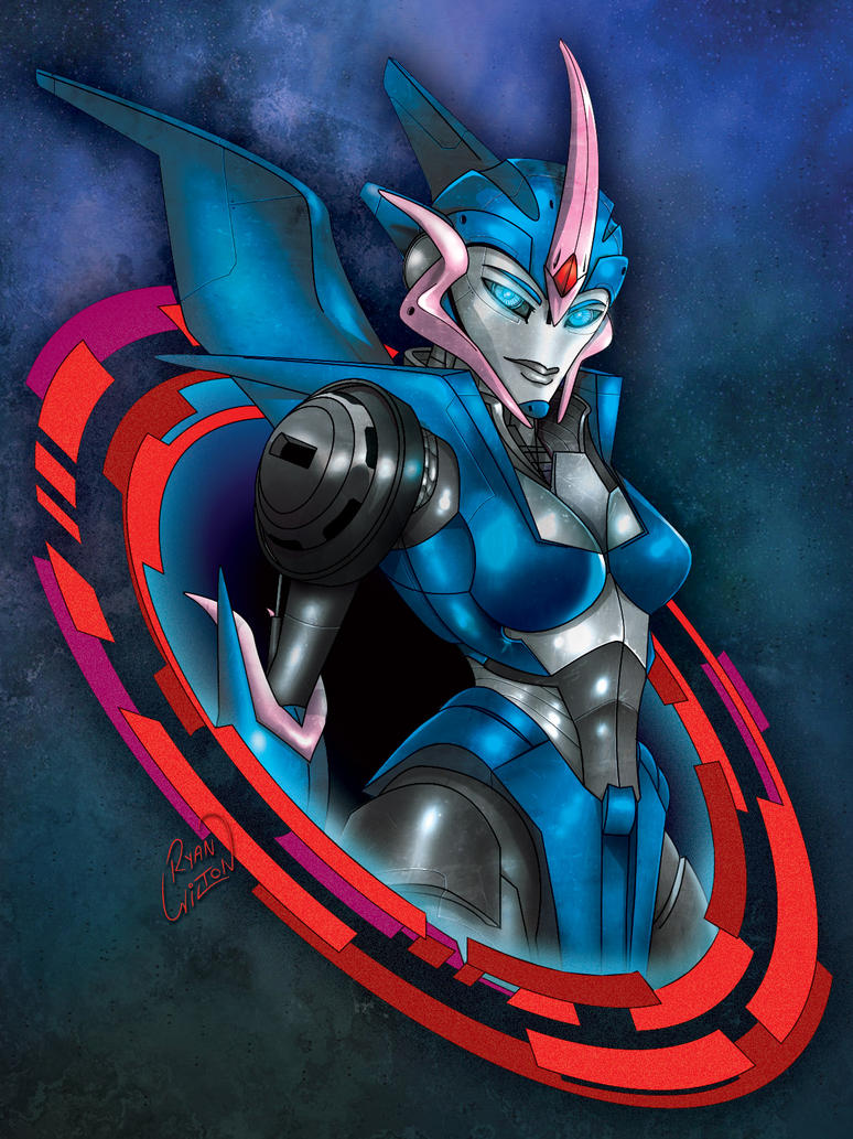 Transformers Prime : Arcee - Colour by channandeller on ...