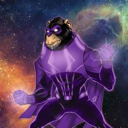 Cosmic Chimp by channandeller