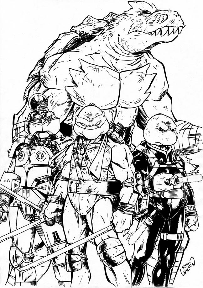 Ninja Turtles by channandeller