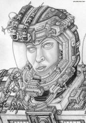 A.N.T Space Soldier Portrait by SoldierOfThe44th