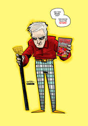 Old Biff Tannen BTTF by JustinPeterson