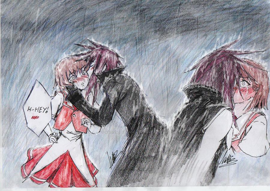 .:Contest:Dark_Riku _Rain:. by NattisloveManga
