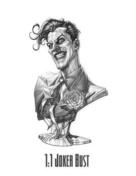 Sideshow 1:1 Joker Bust (Final Concept)
