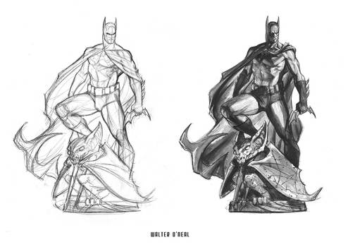 Sideshow - Batman PF (early concept)