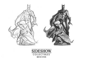 Sideshow - Batman PF (early concept) by No-Sign-of-Sanity