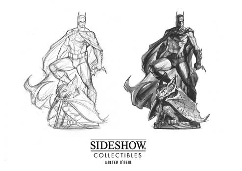 Sideshow - Batman PF (early concept)