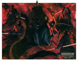 Sideshow - Darth Maul Mythos - Final illustration