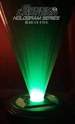 Green Lantern Hologram Series - Base light