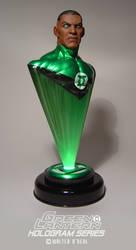 Green Lantern Hologram Series - John Stewart by No-Sign-of-Sanity