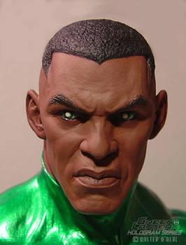 Green Lantern Hologram Series - John Stewart close