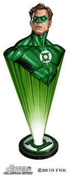 Hologram Series - Green Lantern Hal Jordan