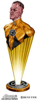Hologram Series - Yellow Lantern Sinestro