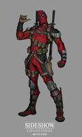 Sideshow: Sixth Scale Deadpool - Concept art