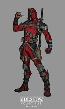 Sideshow: Sixth Scale Deadpool - Concept art
