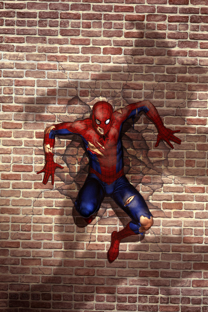 Spider-Man vs. Green Goblin by No-Sign-of-Sanity