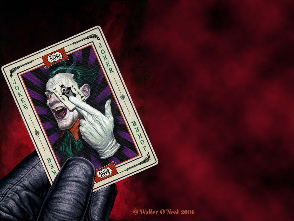 Joker's Calling Card -...
