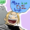 FMA Icon: An Evil Laugh by Lalikaa