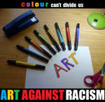 Art Against Racism by Lalikaa