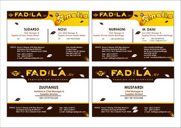 FADILA NAME CARD by mumu145