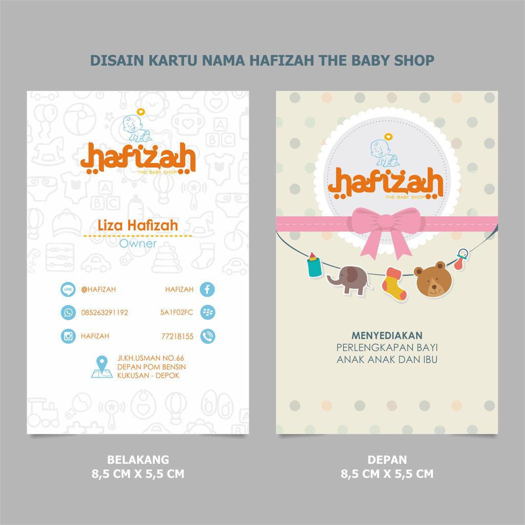 Name Card Hafizah by mumu145