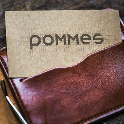 LETTERING FOR POMMES CONCEPT 1 by mumu145