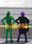 Hit Girl and Kickass Cosplay by GlowingSnow