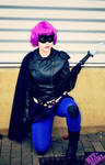 Cosplay of Hit Girl from Kick Ass by GlowingSnow