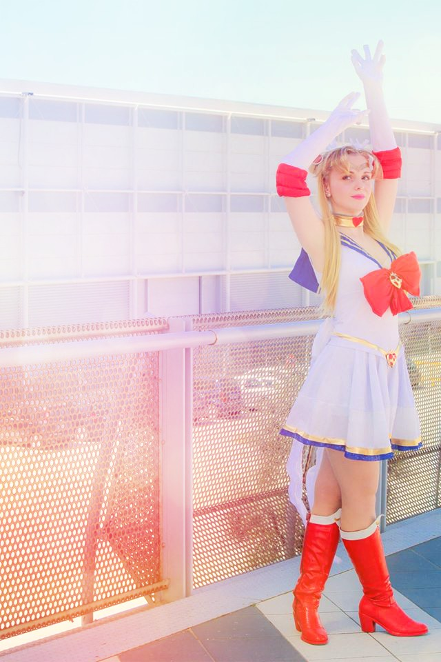 Guardian of Love and Justice! (Super Sailor Moon) by GlowingSnow